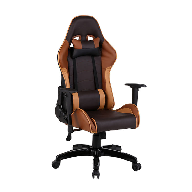 Free Sample Station Leader Large Foldable 1 Piece Racing Style Pc Rgb Custom Label Game 4d Armrest Blue Gamer Logo Gaming Chair