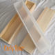 Large Loaf Silicone Soap Mold With Wooden Box Flexible Rectangle Mould High Quality Handmade Soap Making Supplies