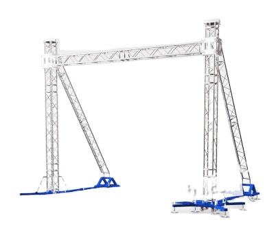 Aluminum Frame Truss Structure / Event Aluminum Spigot / Bolt Stage Lights Exhibition Truss