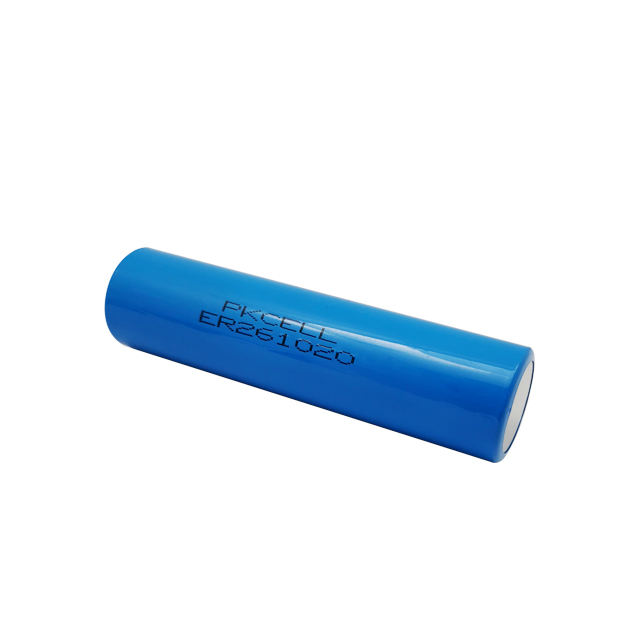 Disposable Lithium primary battery er261020 3.6v 16000mAh size CC lisocl2 battery for medical equipment