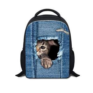 600D Mini Backpack Sublimation Book Bag