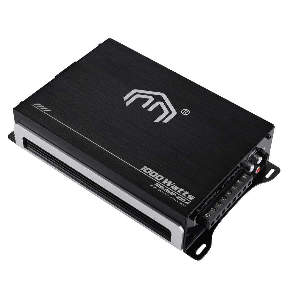 4ch ClassAB class D mono mini car amplifier