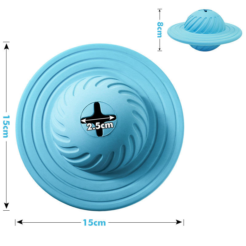 2019 New dog flying disc Catching Game Outdoor Toy with food Treat dispenser