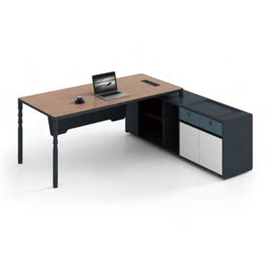 Lopo office table writing computer desk white