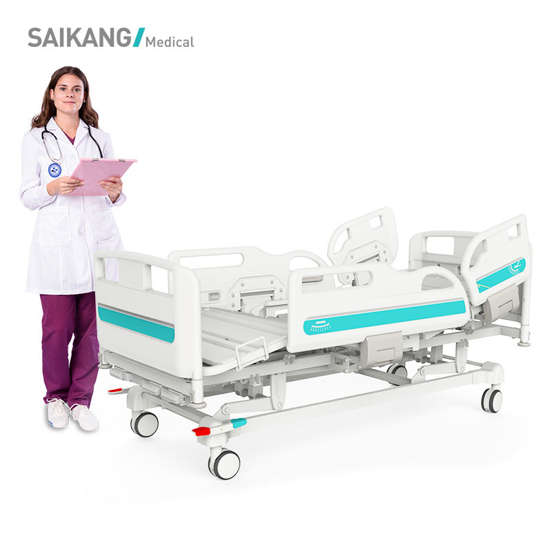 Y3y8c Saikang Hospital Furniture Detachable Manual Hospital Bed Head And Foot Board