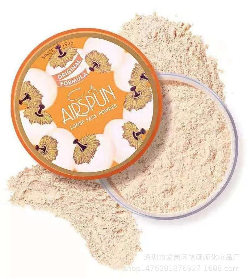 Coty Airspun Loose Face Powder 2 3 Oz Translucent Tone Loose Face Powder For Setting Makeup Or As Foundation Palette Lightweight