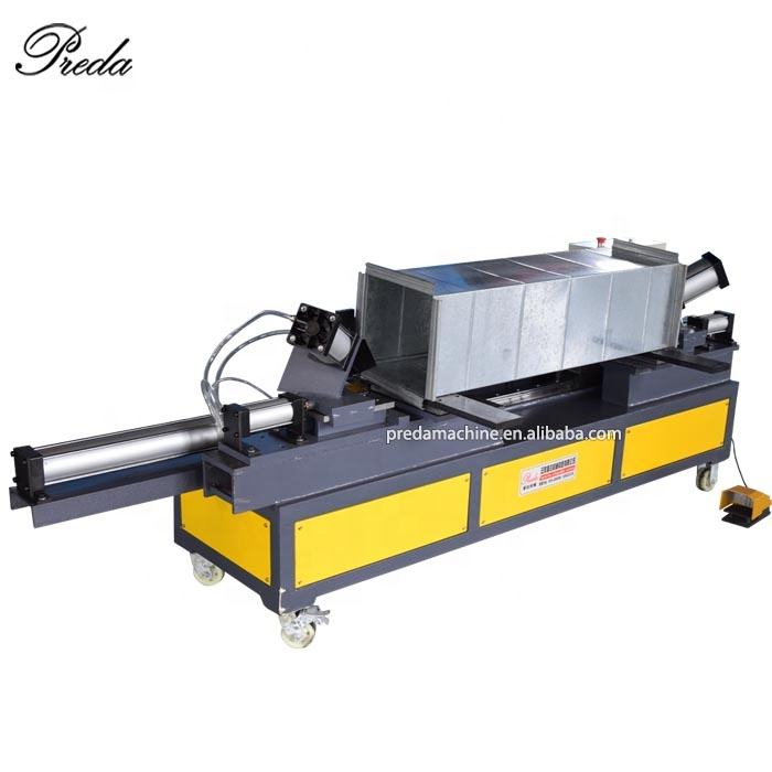 Anhui Preda duct seam closing machine low price air duct seam locking machine for sale