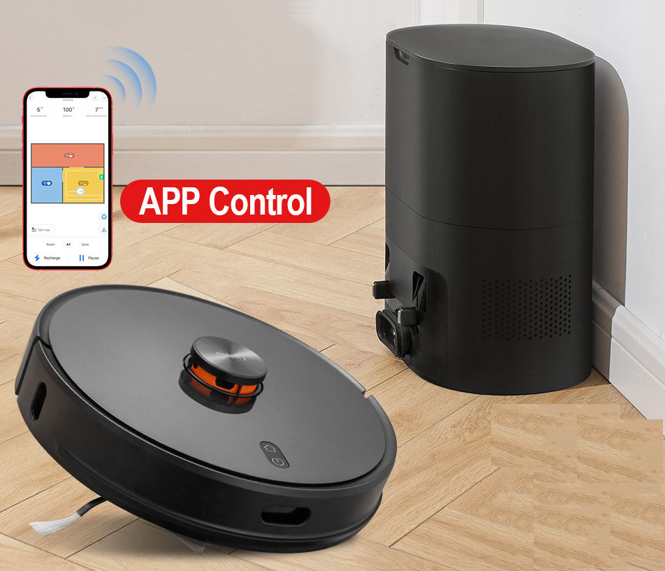 Original Xiaomi Lydsto R1 Smart Automatic Integrated Robot Floor Sweeper Robot Vacuum Mop Cleaner