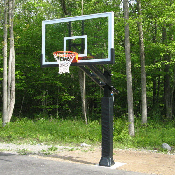 Inground Adjustable Basketball Systems Hoops Stand