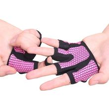 Non-slip Weight Lifting Building Training Sports Gloves Four Finger