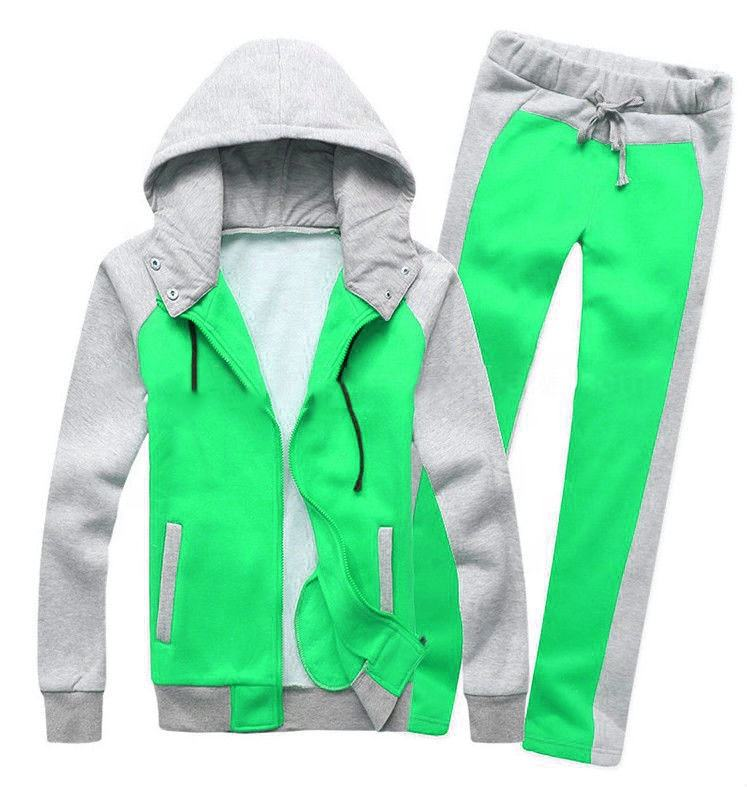 Plain workout winter sweats suit jogging sports set for men fitted gym track pant cotton pullover OEM casual warm jackets hoody