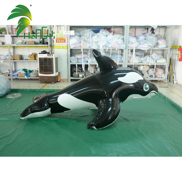 Lovely Double Layer PVC Inflatable Dolphin Suit Cartoon Costume Balloon