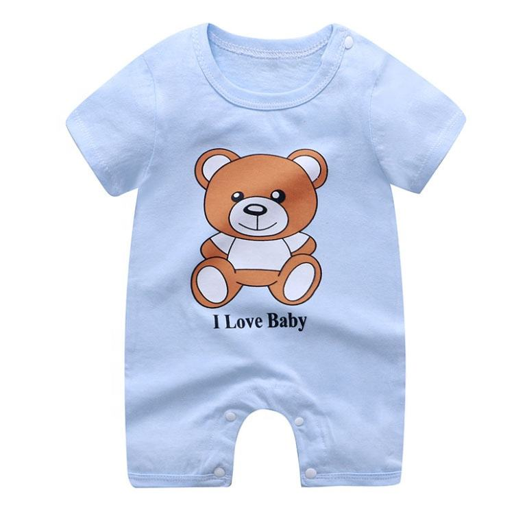 New Born Cute Knitted Baby Clothes Baby Girl Clothes Romper