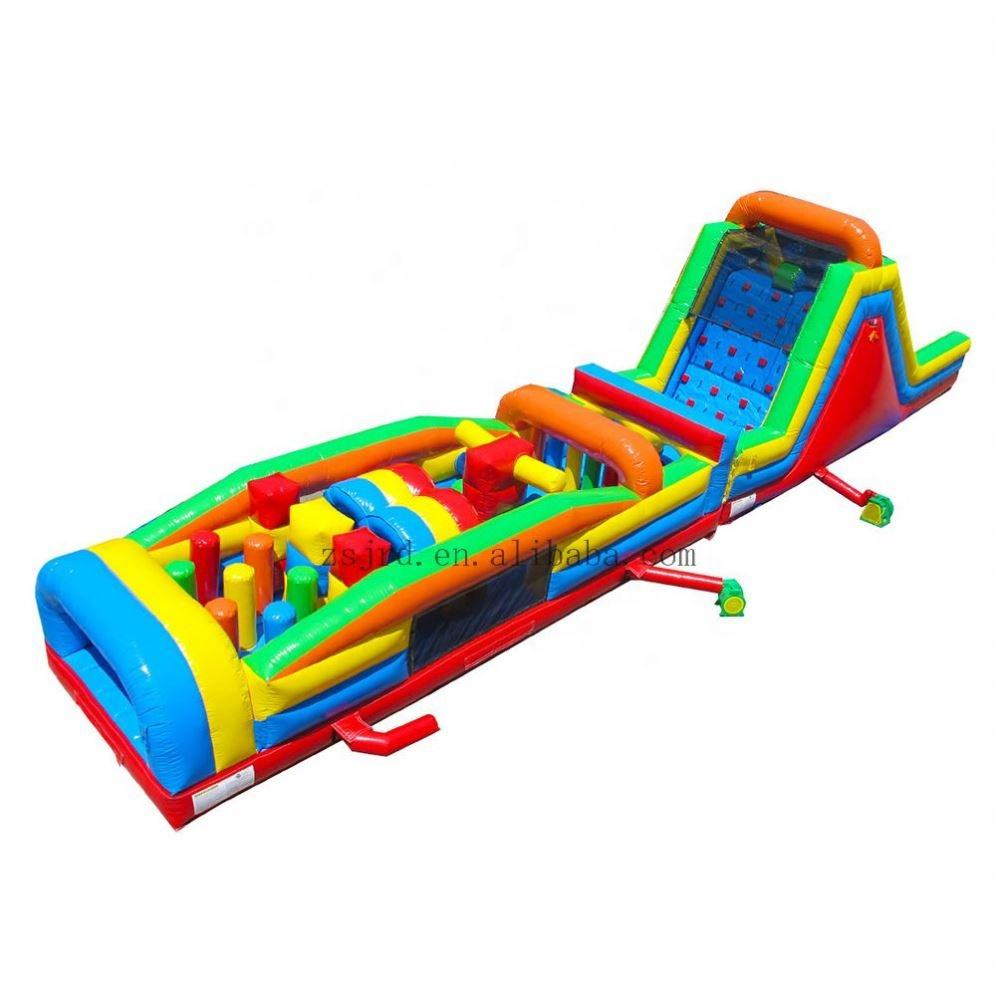 Inflatable Fun City, Inflatable Games Trung Quốc, Inflatable Obstacle Course Để Bán
