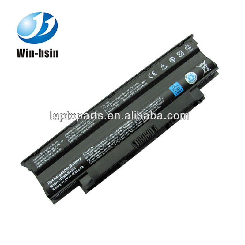 9 Cells replacement laptop battery for dell inspiron n4050 13R 14R 15R 17R N3010 N4010 N5010 N7010 series battery