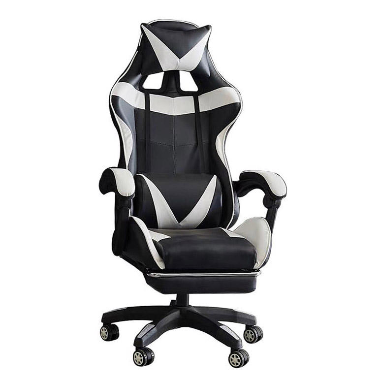 Chair For Pc Gaming Players Without Wheels Green Computer Pink And White High Back Gamer Genuine Leather Natural