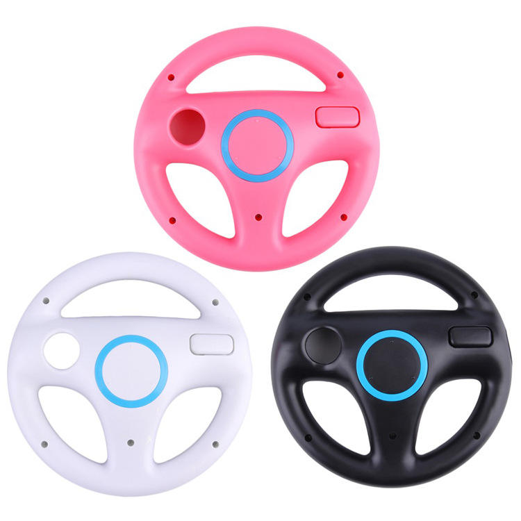 New Hot Game Racing Steering Wheel for Nintendo Wii Mario Kart Remote Controller