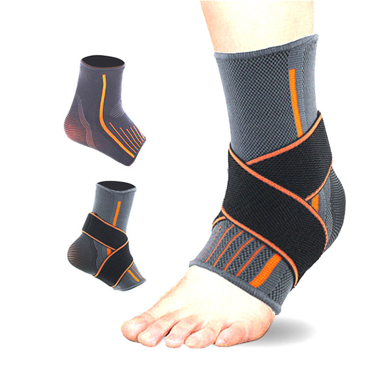 Ankle Support Sleeve Compression Adjustable Elastic Sports Basketball Ankle Brace