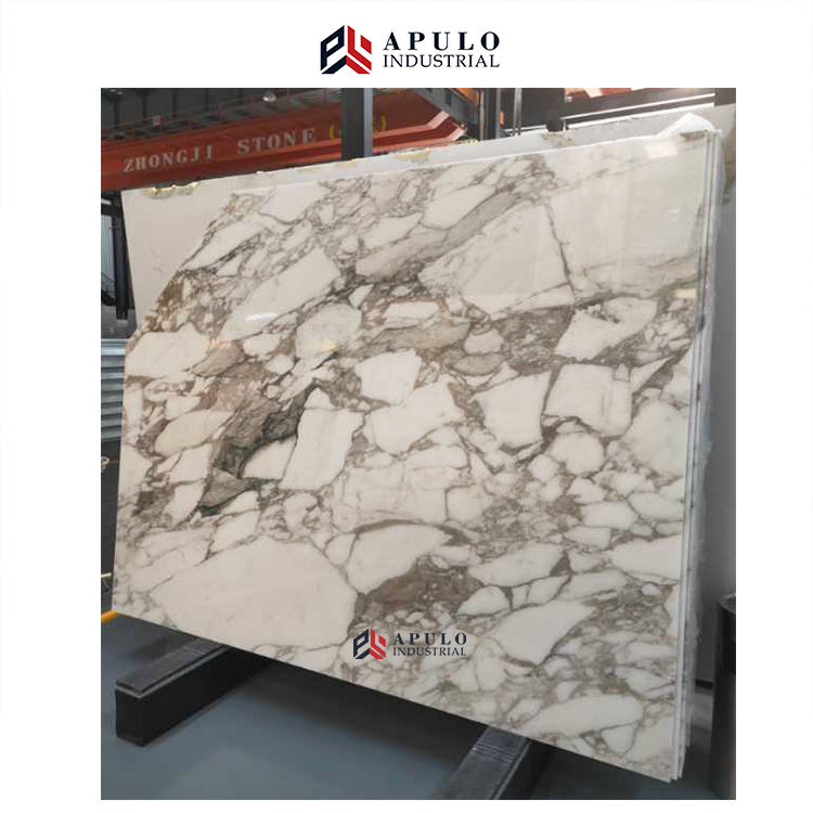 Calacatta arabescat oro borghini white calcutta gold marble slab Italy marble tile polished piccasso yellow vein golden marble