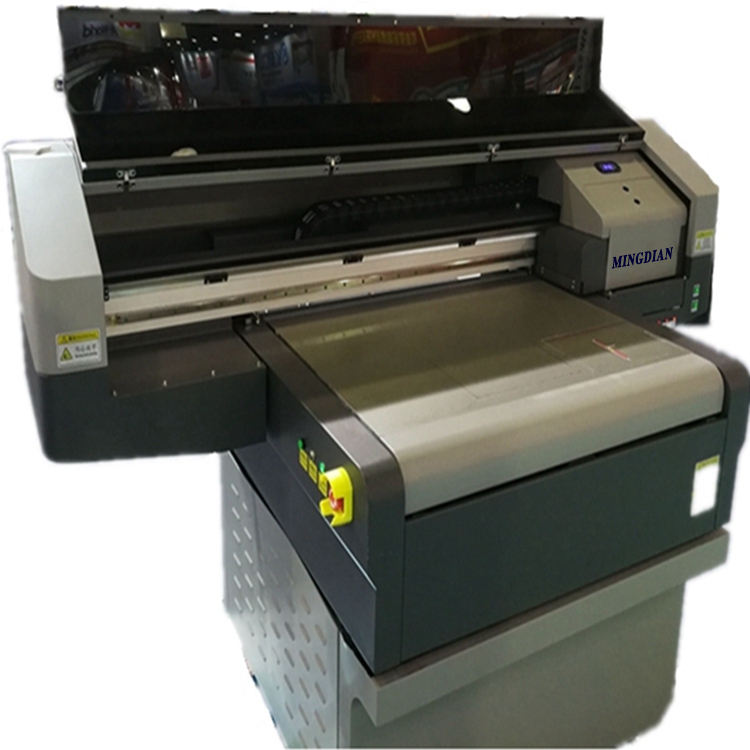 Only One In China All Materials is NO Problem Cheapest 9090 Flatbed LED UV Printer