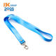 Color brilliancy wrist nylon keychain lanyard fashion custom camara strap
