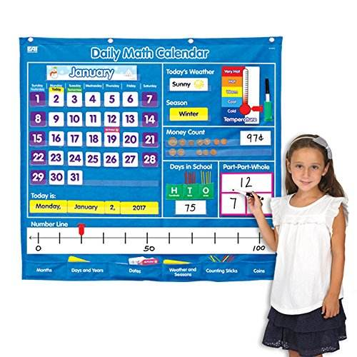Office Home Preschool Educational Charts Classroom Management Pocket Chart