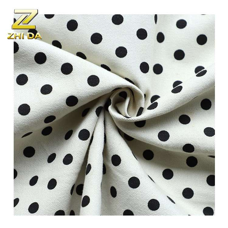 Wholesale types of dot print 100% cotton swiss dot fabric for bags and shoes