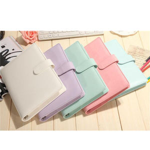 Best sell cheap price custom A4 A5 Leather Planner With Ring Binder