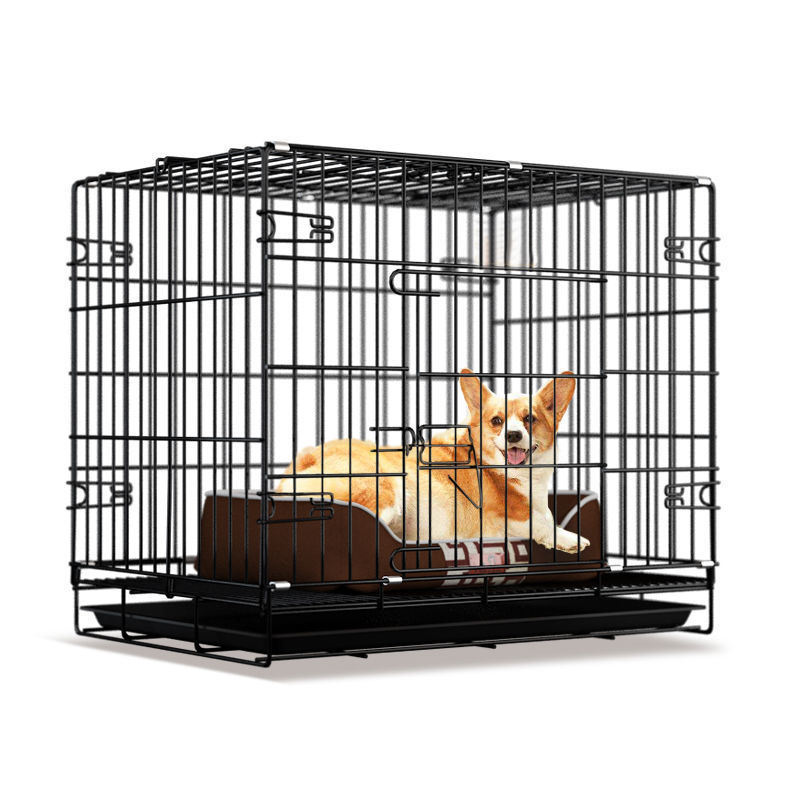 Cage Cages Dog &Amp; Houses For Sale Small Cover Solid Color Carrier Foldable Kennel Display Cat Pet Cages, Carriers