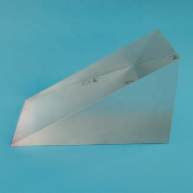 China manufacture optical glass prisma fused silica right angle prism