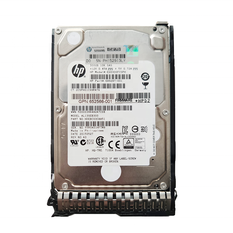 New Retail Package HDD 793669-B21 793763-001 HPE SAS 4TB 12G hard drive