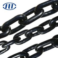 Black Welded Steel Lifting Chains G80 6x18 Heavy Duty Load Lifting Chain
