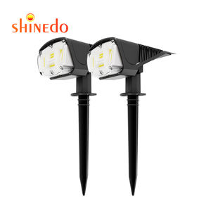 42 LED Upgraded Solar Lights Landscape Spotlights 2-in-1 IP67 Waterproof Bright 3 Mode Solar Powered Wireless Outdoor Lawn Light