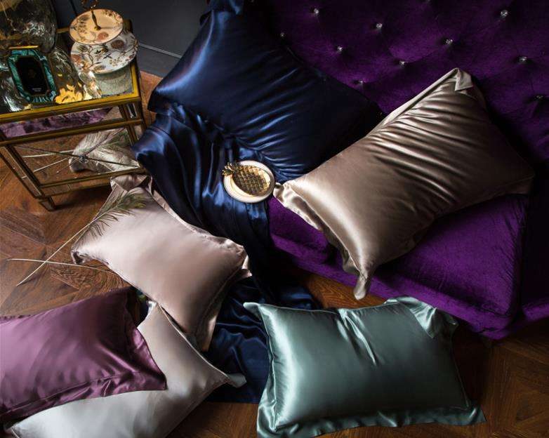 19MM/22MM/25MM Luxury 100% Silk Bedding Sets Pillow Cases Duvet Cover