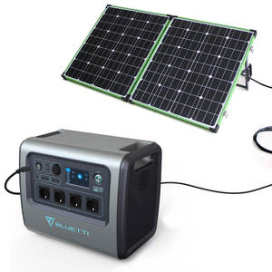 Portable Solar charging Power Station 500W 1000W 2000W Backup Generator Lithium Battery Pack