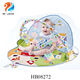 Infant 2 in 1 Lay To Sit Up Play Gym Activity mat baby chair with Toys and pillow for Newborns 0 - 12 Month baby