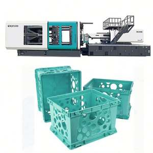 injection molding machine 780 ton plastic crate /Fruit basket making with Intellectual control unit