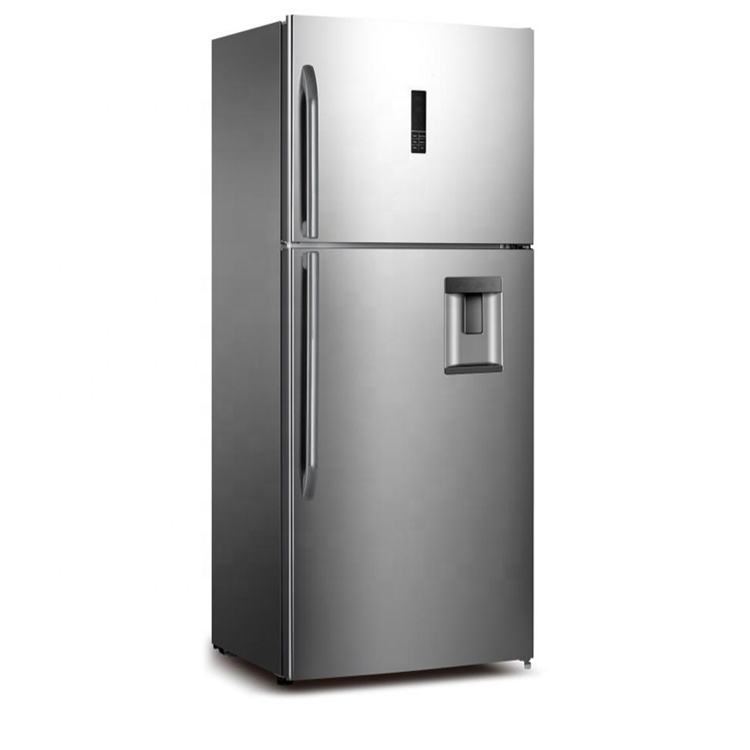 No Frost 593L Double Door Refrigerator With Water Dispenser