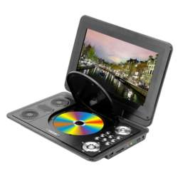 13.8 inch Portable DVD Player 270 degrees Rotate Digital Multimedia Player USB TV Support Game Function for Car Home Audio Syste