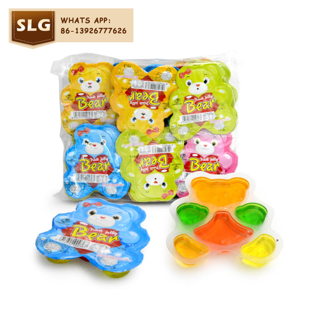 Sweet cute bear jelly in bag