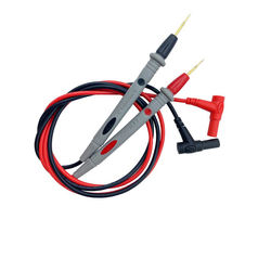 Universal Vermeil Test Leads Pin for Digital Multimeter Needle Tip Multi Meter Probe Wire Pen Cable 4mm Banana plug