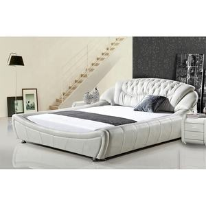 High Quality Custom house king full size bed bedroom furniture modern double