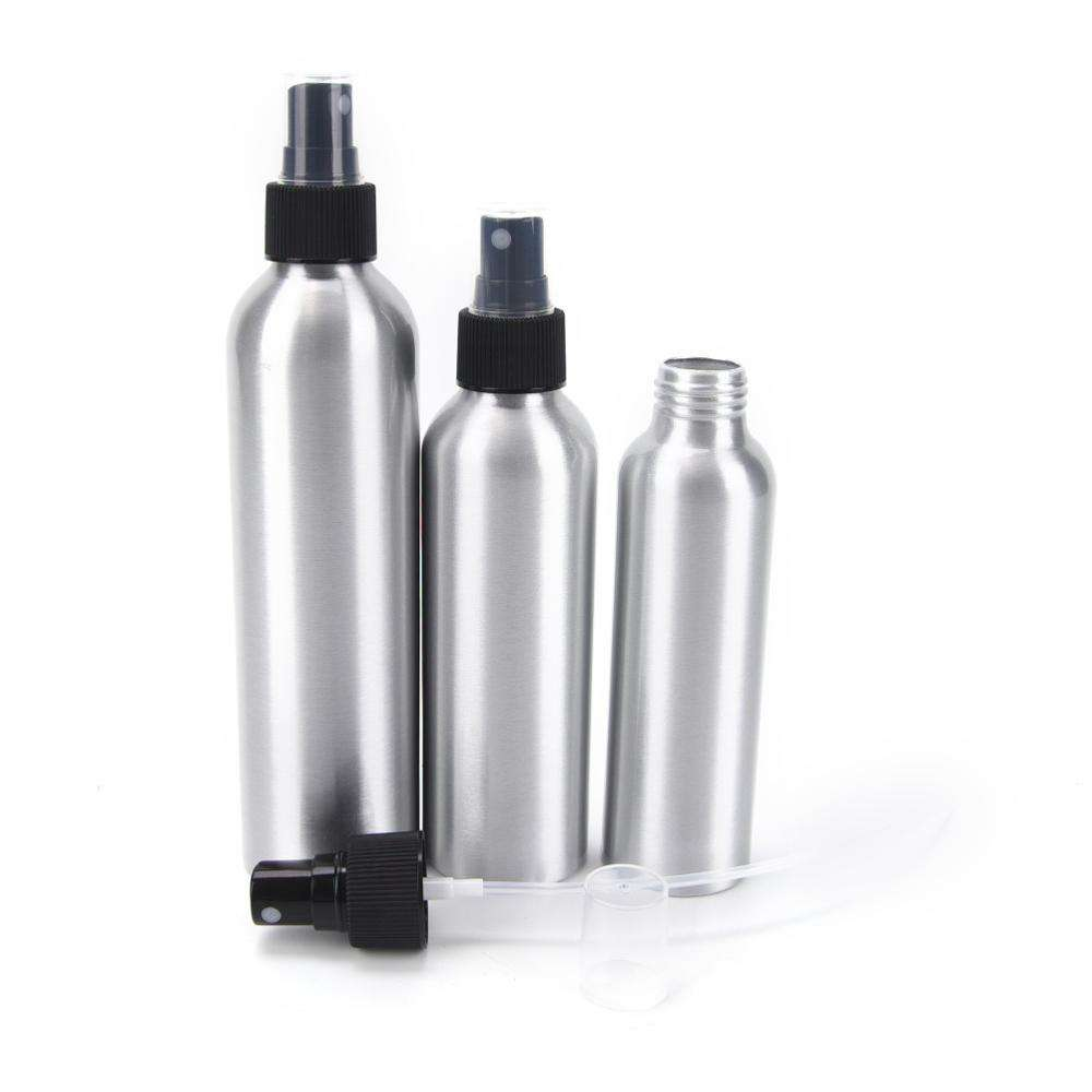 10ml 30ml 50ml 100ml 120ml 150ml 250ml Aluminum Bottle Mice Fine Mist Spray Bottle