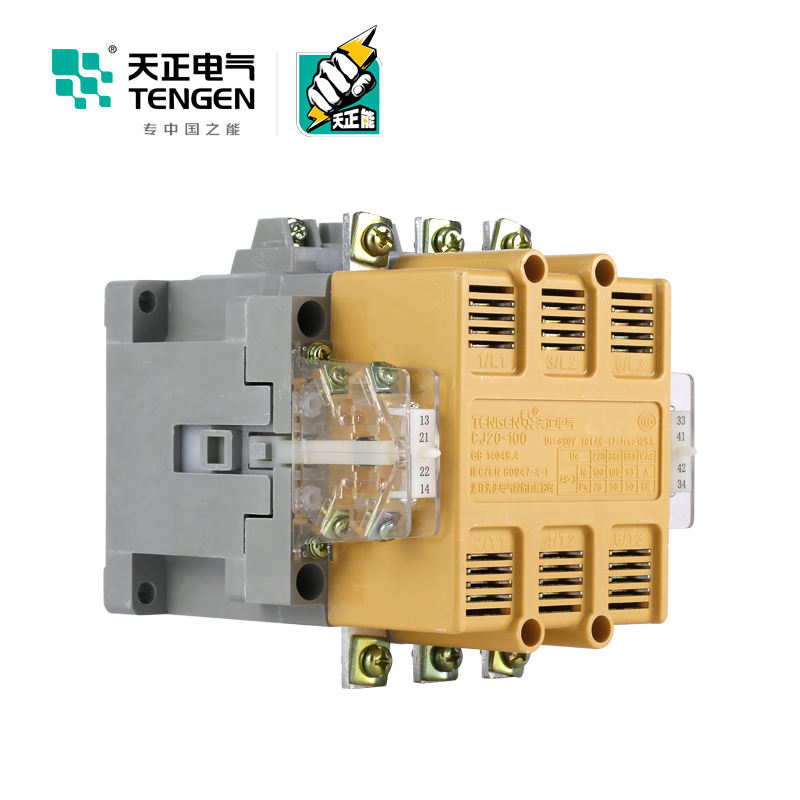 Hot Sell electric Motor CJ20-10A 240V dustproof ac magnetic contactor