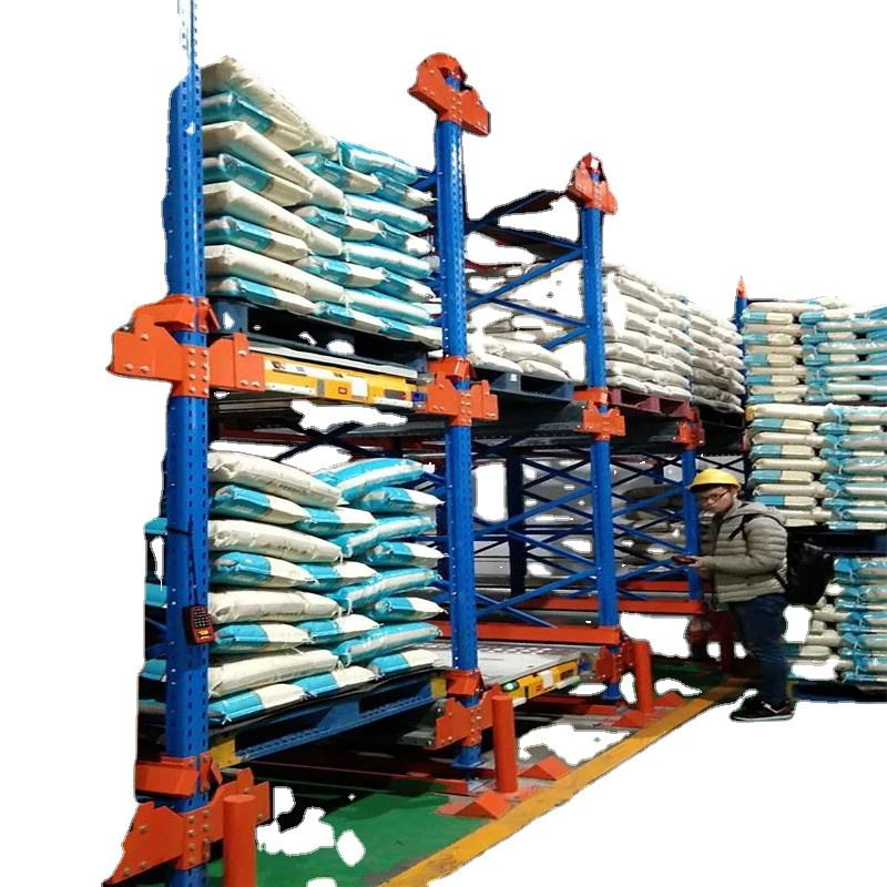 cold storage radio shuttle pallet rack and racking system