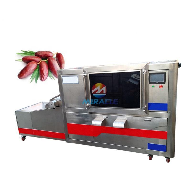 Deglet noor dates pitter machine/seeds removing machine for dry dates/jujube pitting machine on sale