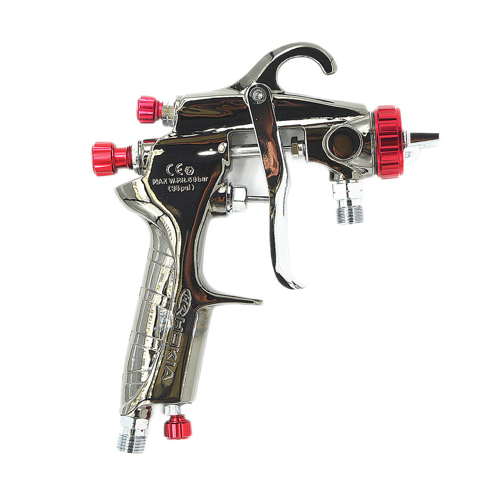 <span class=keywords><strong>China</strong></span> Professional Paint Machine Spray Gun Hk-71W-1.0 Air Hvlp Paint Spray Gun With Bottom Cup