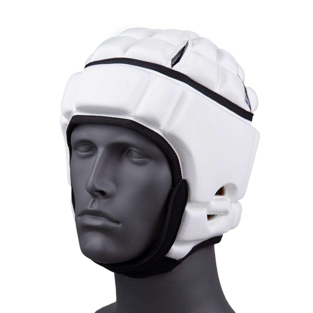 Customized Soft Shell Sport Football Rugby Headgear Safety Protective Padding Helmet soft shell durable material helmet