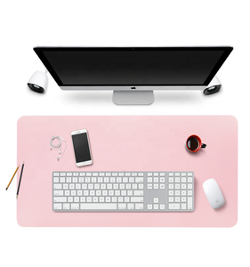 Custom Waterproof Large PU Leather Office Full Computer Desk Pad Mat