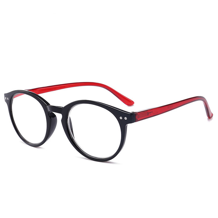 Fashion plastic pc custom Reading Glasses Men Women anti Blue Light Blocking Prescription Diopter +1.0~+4.0